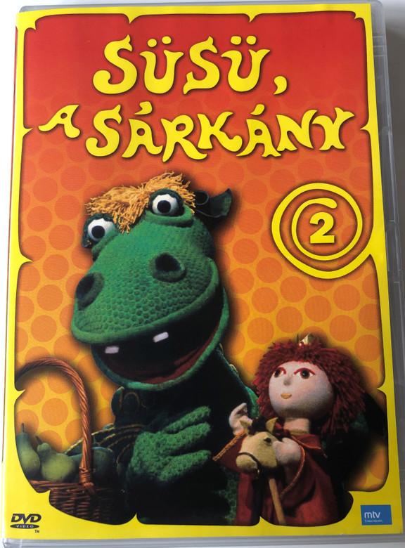 Süsü a Sárkány 2 DVD 1977 Hungarian TV cartoon series / Directed by Szabó Attila / Written by Csukás István / Episode 2 & 3 (5999557442812)