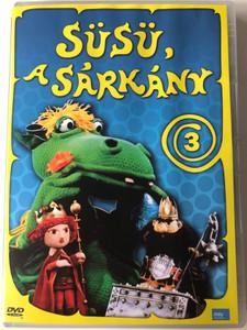 Süsü a Sárkány 3 DVD 1978 Hungarian TV cartoon series / Directed by Szabó Attila / Written by Csukás István / Episodes 4 & 5 (5999884697008)