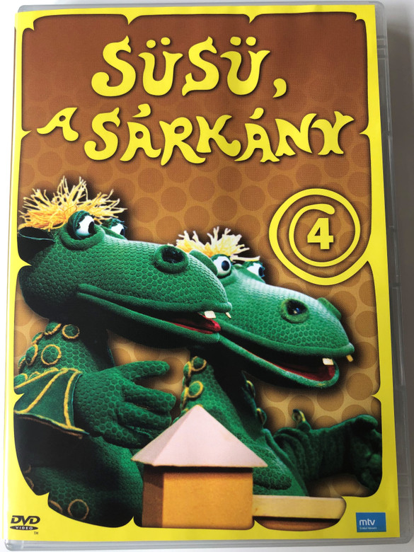 Süsü a Sárkány 4 DVD 1977 Hungarian TV cartoon series / Directed by Szabó Attila / Written by Csukás István / Episode 6-7 (5999884697015)