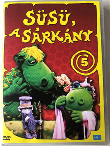 Süsü a Sárkány 5 DVD 1977 Hungarian TV cartoon series / Directed by Szabó Attila / Written by Csukás István / Episodes 8 & 9 (5999884697022)