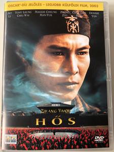 Hero DVD 2002 Hős (英雄) / Directed by Zhng Yimou / Starring: Jet Li, Tony Leung, Maggie Cheung, Chen Daoming (5999010453539)