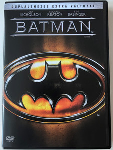 Batman DVD 1989 / Directed by Tim Burton / Starring: Jack Nicholson, Michael Keaton, Kim Basinger, Robert Wuhl, Pat Hingle (5999048904430)