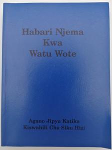 Modern Swahili NT / Habari Njema Kwa Watu Wote / Agano Jipya Katika Kiswahili Cha Siku Hizi / World Missionary Press (SwahiliNT)