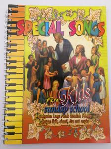 Special Songs for Kids Sunday School by Yusak I. Suryana / Yis Production 2005 Jakarta / Indonesian Christian Song Book / Spiral Bound / Kumpulan Lagu Anak Sekolah Minggu dengan lirik, chord, dan not angka (9792520538)