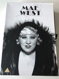 Mae West DVD Box SET 6 DVD / She Done Him Wrong, I'm no angel, Belle of the Ninetie, Klondike Annie, My Little Chickadee, The Heat's on / Black & White Classic films (5050582385687)