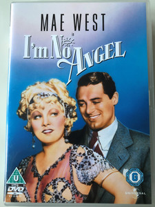 I'm no Angel DVD 1933 / Directed by Wesley Ruggles / Starring: Mae West, Cary Grant, Gregory Ratoff, Edward Arnold, Ralf Harolde (5050582345506)