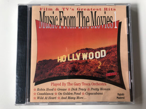 Film & Tv's Greatest Hits - Music From The Movies 1 / Played By The Gary Tesca Orchestra ‎/ Robin Hood, Grease, Dick Tracy, Pretty Woman, Casablanca, On Golden Pond, Copacabana, Wild At Heart,... / Mirage Audio CD / TR-CD 92024556