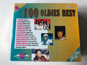 100 Oldies Best - Vol. 2 - CD Box 4 / Donovan - Colours, Sweet - Ballroom blitz, Archies - Sugar sugar, Rubettes - I Can do it, Marmalade - Rainbow, Johnny Cash - Big river, and many others / Selected Sound Carrier 4x Audio CD, Box Set / 5033