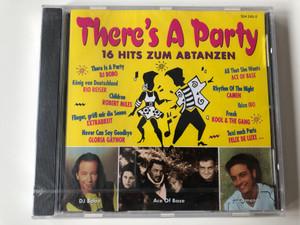 There's A Party - 16 Hits Zum Abtanzen / There's A Party - DJ BoBo, König Von Deutschland - Rio Reiser, Children - Robert Miles, Flieger, Grüß Mir Die Sonne - Extrabreit, Never Can Say Goodbye - Gloria Gaynor / Spectrum Audio CD / 554 243-2