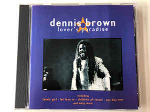Dennis Brown ‎– Lover's Paradise / Including Lately Girl, Let Love In, Children Of Israel, Any Day Now and many more / FMCG ‎Audio CD 1997 / FMC003