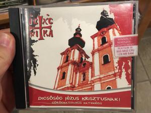 Dicsőség Jézus Krisztusnak! Görögkatolikus Katekézis / DVD-ROM 2004 Hungarian language Greek Catholic Catechism / Hajdúdorogi Egyházmegyei Hitoktatási Iroda (1244000009741)