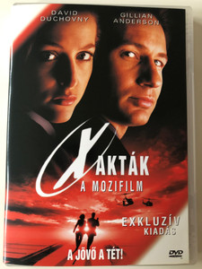X-Files the Movie (Fight the Future) DVD 1998 X-Akták a mozifilm / Directed by Rob Bowman / Starring: David Duchovny, Gillian Anderson, Martin Landau (5996255702774)