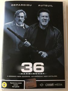36 DVD 2005 Harminchat (36 Quai des Orfévres) / Directed by Olivier Marchal / Starring: Daniel Auteuil, Gérard Depardieu, André Dussollier, Roschdy Zem (5998133155634)