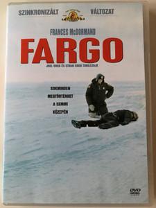 Fargo DVD 1996 / Directed by Joel Coen / Starring: Frances McDormand, William H. Macy, Steve Buscemi (5996255719963)