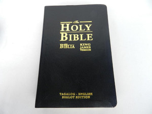 Ang Biblia (Tagalog) -King James Version (English) Bilingual Bible / Leather ...