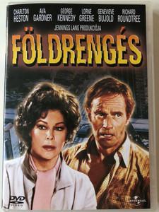 Earthquake DVD 1974 Földrengés / Directed by Mark Robson / Starring: Charlton Heston, Ava Gardner, George Kennedy, Lorne Greene (5050582238983)