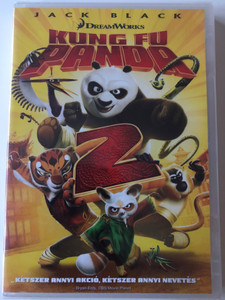 Kung Fu Panda 2008 DVD / Directed by John Stevenson, Mark Osborne / Starring: Jack Black, Dustin Hoffman, Angelina Jolie, Ian McShane, Seth Rogen, Lucy Liu (5996051321469)