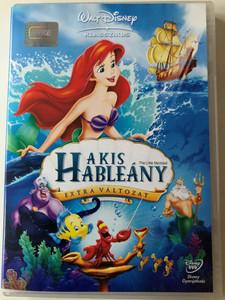 The Little Mermaid DVD 1989 A Kis Hableány Extra Változat / Directed by Ron Clements, John Musker / Starring: René Auberjonois, Christopher Daniel Barnes, Jodi Benson, Pat Carroll (5996255722253)