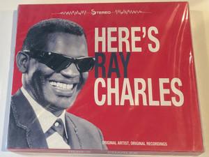 Here's Ray Charles / Original Artist, Original Recordings / Disky Audio CD Stereo / SI 903643