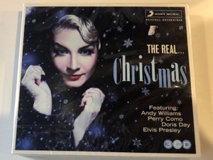The Real... Christmas / Featuring: Andy Wiliams, Perry Como, Doris Day, Elvis Prisley / Sony Music 3x Audio CD 2012 / 88725413482