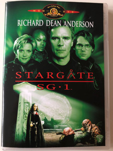 Stargate SG 1 DVD 1997 Volume 2 / Italian release / The Broca Divide, The First Commandment, Cold Lazarus, The Nox, Brief Candle / Season 1 - 5 Episodes (8010312043925)