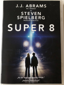 Super 8 DVD 2011 / Directed by J. J. Abrams / Produced by Steven Spielberg / Starring: Joel Courtney, Elle Fanning, Kyle Chandler, Gabriel Basso, Noah Emmerich (5996051321476)