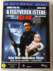 Hard Boiled (辣手神探) DVD 1992 A Fegyverek istene / Directed by John Woo / Starring: Chow Yun-fat, Tony Leung Chiu-wai, Teresa Mo, Philip Chan (5998133152336)