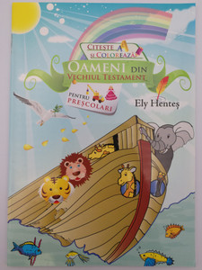 Oameni din Vechiul Testament by Ely Hentes / People of the Old Testament - Romanian languague coloring book for preschoolers / Paperback / Romanian Bible Society (9789738983397)