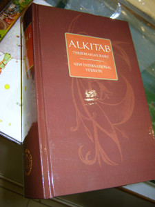 Indonesian English Bible (hardcover, thumb index)