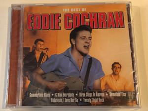 The Best Of Eddie Cochran / Summertime Blues, C'mon Everybody, Three Steps To Heaven, Somethin' Else, Hallelujah I Love Her So, Twenty Flight Rock / Emi Gold Audio CD 2004 / 724357144322