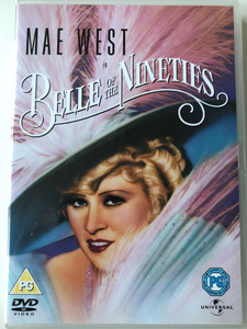 Belle of the Nineties DVD 1934 / Directed by Leo McCarey / Starring: Mae West, Roger Pryor, Johnny Mack Brown (5050582344301)