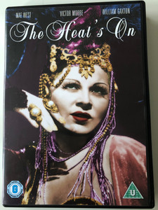 The Heat's On DVD 1943 / Directed by Gregory Ratoff / Starring: Mae West, Victor Moore, William Gaxton (5050582361933)