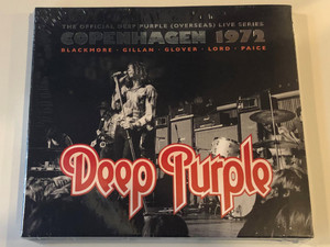 The Offical Deep Purple (Overseas) Live Series – Copenhagen 1972 / Blackmore, Gillan, Glover, Lord, Paice / Deep Purple / Ear Music 2x Audio CD 2013 / 0208369ERE