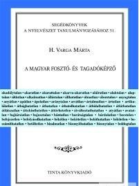 A magyar fosztó- és tagadóképző / Tinta Könyvkiadó / by H. Varga Márta / The Hungarian privative and negative suffix (9637094520)