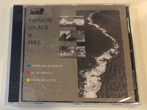 Passion Grace & Fire - John McLaughlin, Al Di Meola, Paco De Lucia / Phonogram Int. Audio CD 1983 / 811 334-2