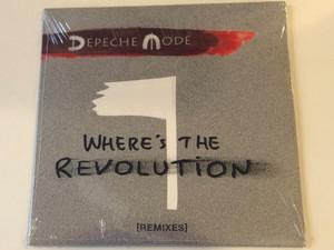 Depeche Mode – Where's The Revolution [Remixes] / Sony Music Audio CD 2017 / 88985420022