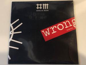 Depeche Mode – Wrong (Remixes) / Venusnote Ltd. Audio CD 2009 / 5099969808029