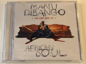 Manu Dibango – African Soul > The Very Best Of < / Mercury Audio CD 1997 / 534766-2