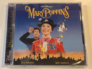 Walt Disney's Mary Poppins / Dick Van Dyke, Julie Andrews / Original Soundtrack / Walt Disney Records Audio CD / 0946 3 51028 2 6