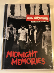 One Direction ‎– The Ultimate Edition - Midnight Memories / Simco Limited Audio CD 2013 / 88883791692