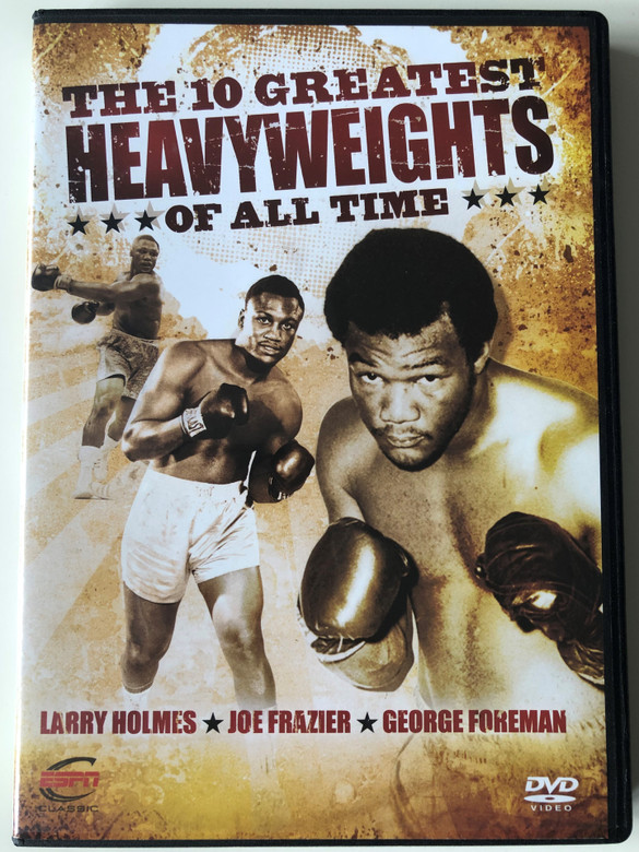 The 10 Greatest Heavy Weights of all time DVD 2010 Larry Holmes - Joe Frazier - George Foreman / ESPN Enterprises / Disc 1 of 6 (BoxingDVD1)