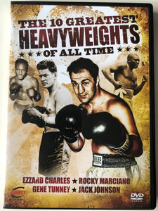 The 10 Greatest Heavy Weights of all time Vol 2 DVD 2010 Ezzard Charles - Rocky Marciano - Gene Tunney - Jack Johnson / ESPN Enterprises / Disc 2 of 6 (BoxingDVD2)