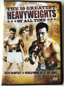 The 10 Greatest Heavy Weights of all time Vol 3 DVD 2010 Jack Dempsey - Muhammad Ali - Joe Louis / ESPN Enterprises / Disc 3 of 6 (BoxingDVD3)
