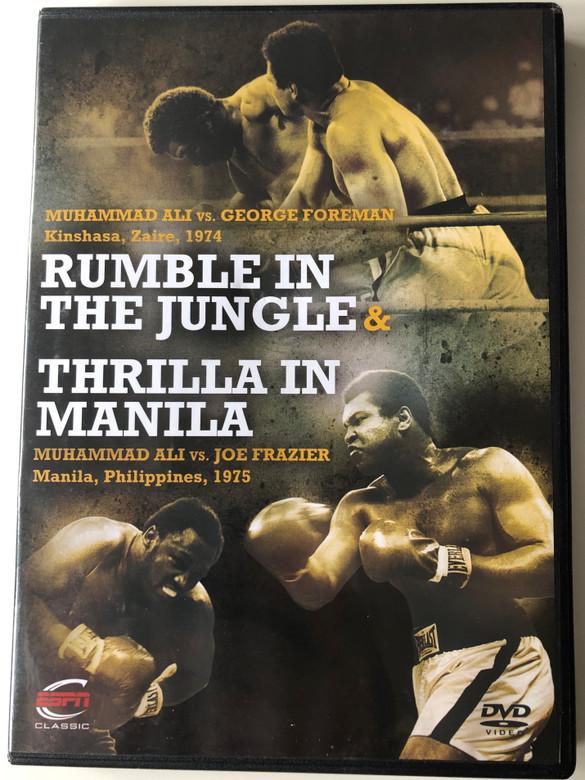 Rumble in the Jungle - Thrilla in Manila DVD 2010 Muhammad Ali's great matches 1974-1975 / ESPN Enterprises