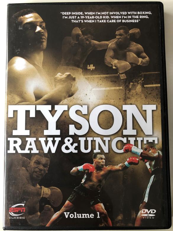 Tyson Raw & Uncut Volume 1 DVD 2010 / ESPN Enterprises / GRD 2978 / Disc 5 of 6 Boxing Set (5055298029788)