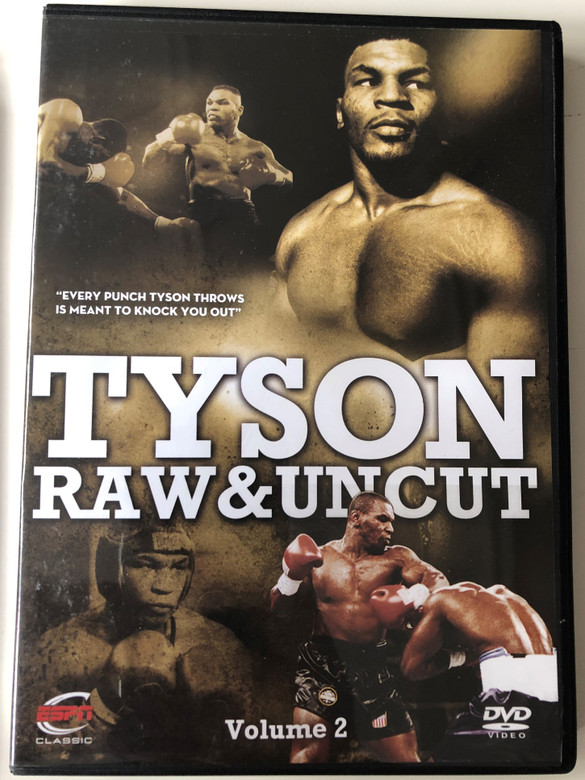 Tyson Raw & Uncut Volume 2 DVD 2010 / ESPN Enterprises / GRD 2979 / Disc 6 of 6 Boxing Set (5055298029795)