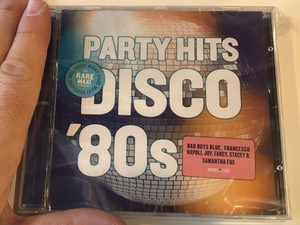 Party Hits Disco '80s / Bad Boys Blue, Francesco Napoli, Joy, Fancy, Stacey Q, Samantha Fox, and many others / Neway Studios Audio CD 2013 / 1302