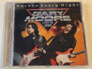 Rockin' Every Night - Gary Moore - Live In Japan / Digitaly Remastered Edition / Virgin Audio CD 2002 / 724358366822