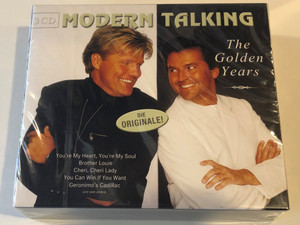 Modern Talking ‎– The Golden Years / You're My Heart, You're My Soul, Brother Louie, Cheri, Cheri Lady, You Can Win If You Want, Geronimo's Cadillac und viele andere / BMG 3x ‎Audio CD Box Set 2002 / 74321 94146 2