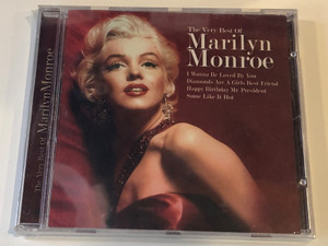 The Very Best Of Marilyn Monroe / I Wanna Be Loved By You, Diamonds Are A Girl's Best Friend, Happy Birthday Mr. President, Some Like It Hot / Time Music International Ltd. Audio CD 2004 / 5033606034921